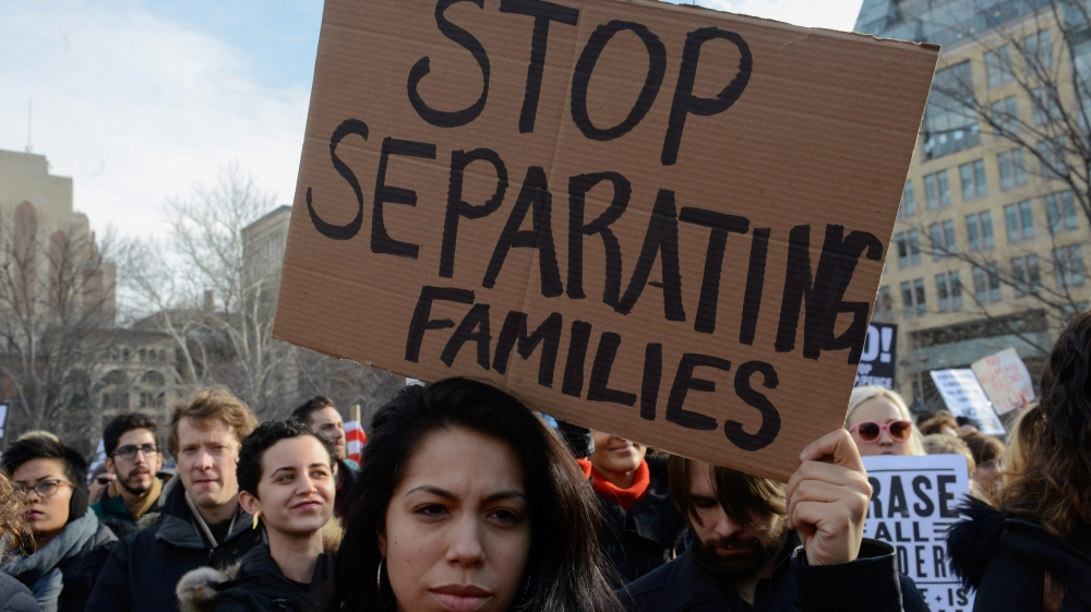 ICE Family Separation protest file photo