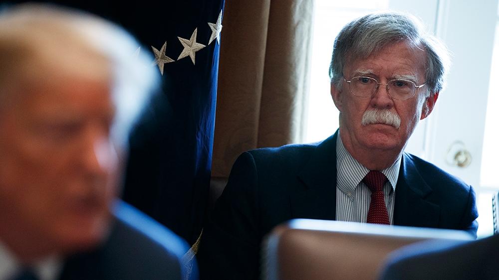 <b>Trump fires John Bolton as national security adviser</b>