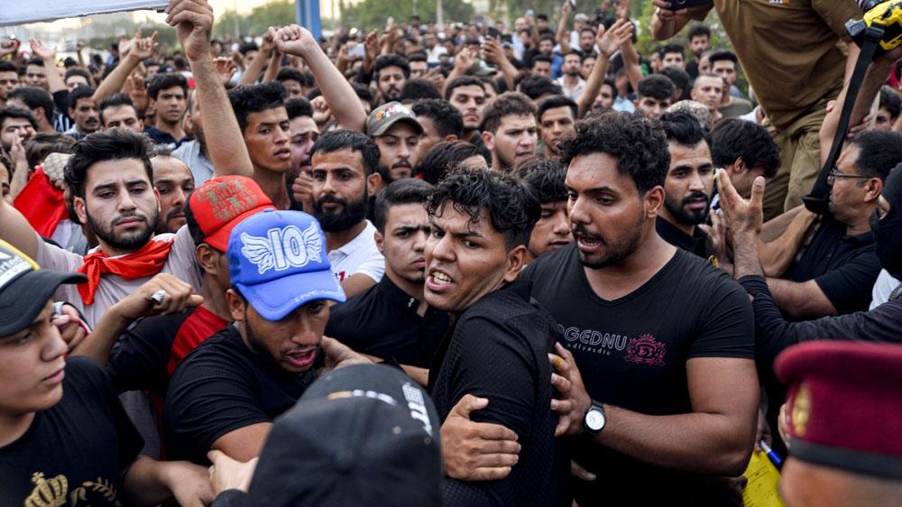 Iraq-sus-protestas-gobierno-presidente-represión-internet-redes-sociales-