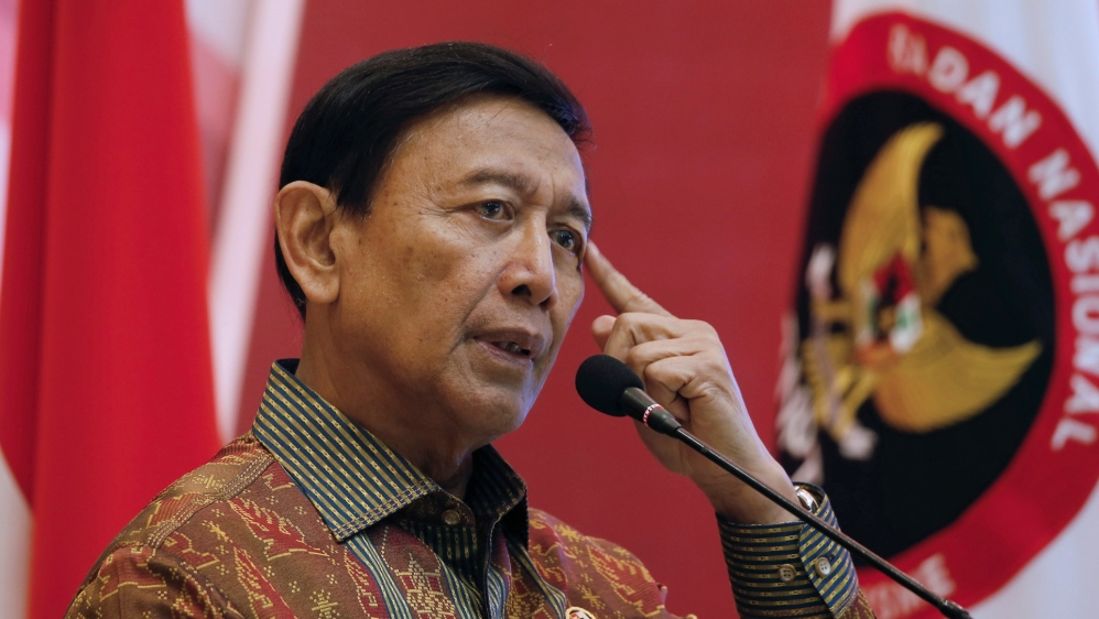 Indonesia's top security minister Wiranto stabbed