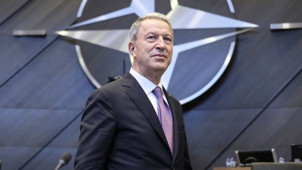 Turkish Defence Minister Hulusi Akar