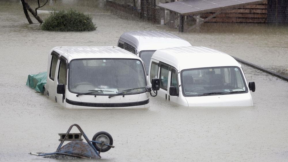 Les ravages du typhon Hagibis — Japon