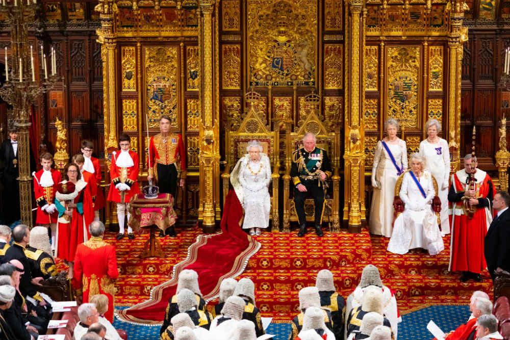 State opening of parliament - [House of Lords]