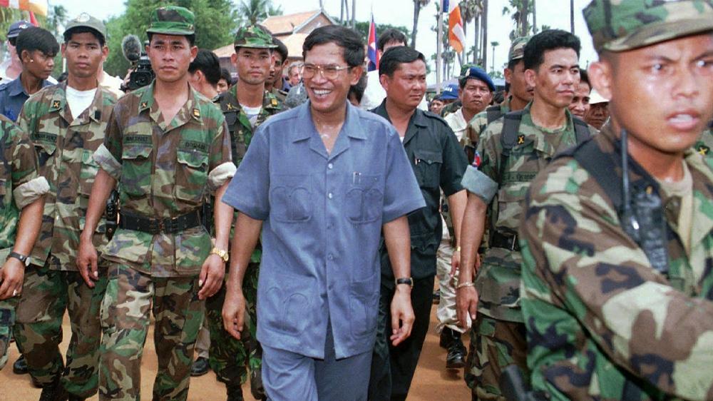Cambodia Hun Sen 1997