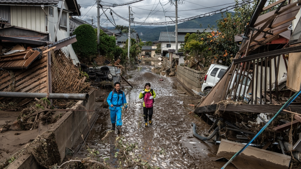 Japan to allocate 710 million yen to support Typhoon Hagibis hit areas
