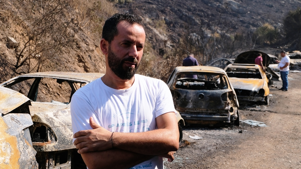 """""I'll be able to get back on my feet,"" Walid Mansour told Al Jazeera. [Timour Azhari/Al Jazeera]"