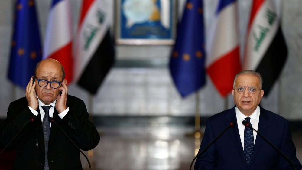France, Iraq diplomats hold talks on ISIL prisoners in Syria