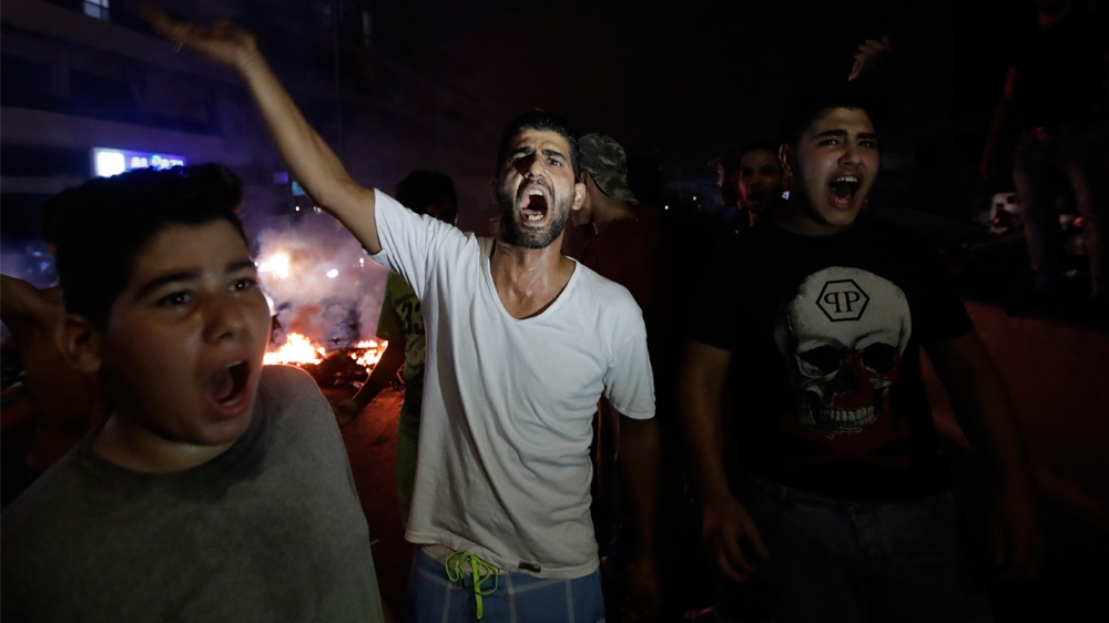 Rioters in Lebanon Demand Resignation of Government