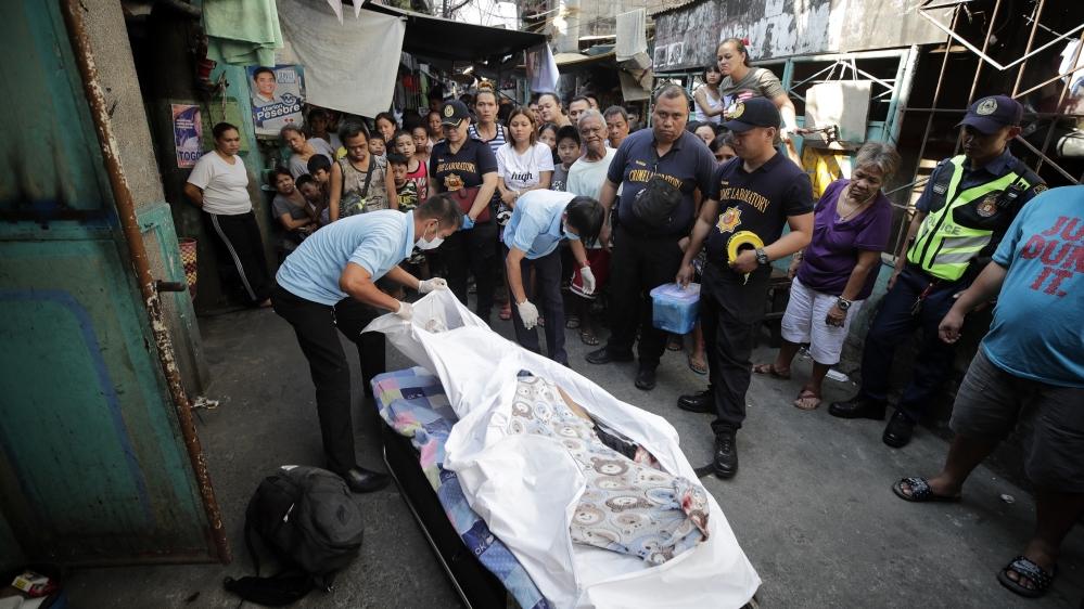 Philippines - war on drugs