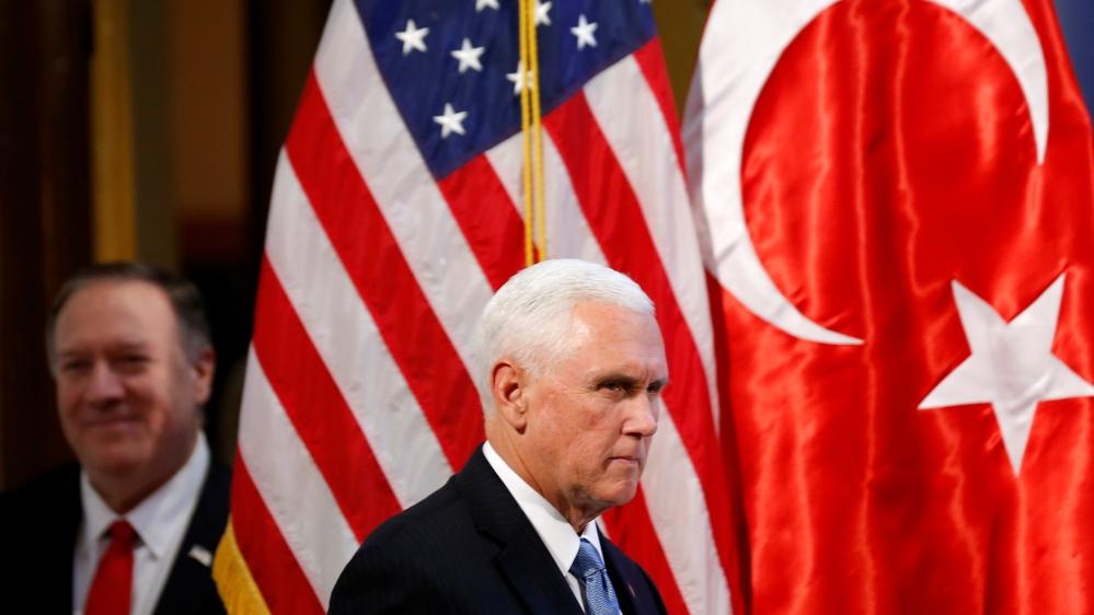 U.S. Vice President Mike Pence visits Turkey
