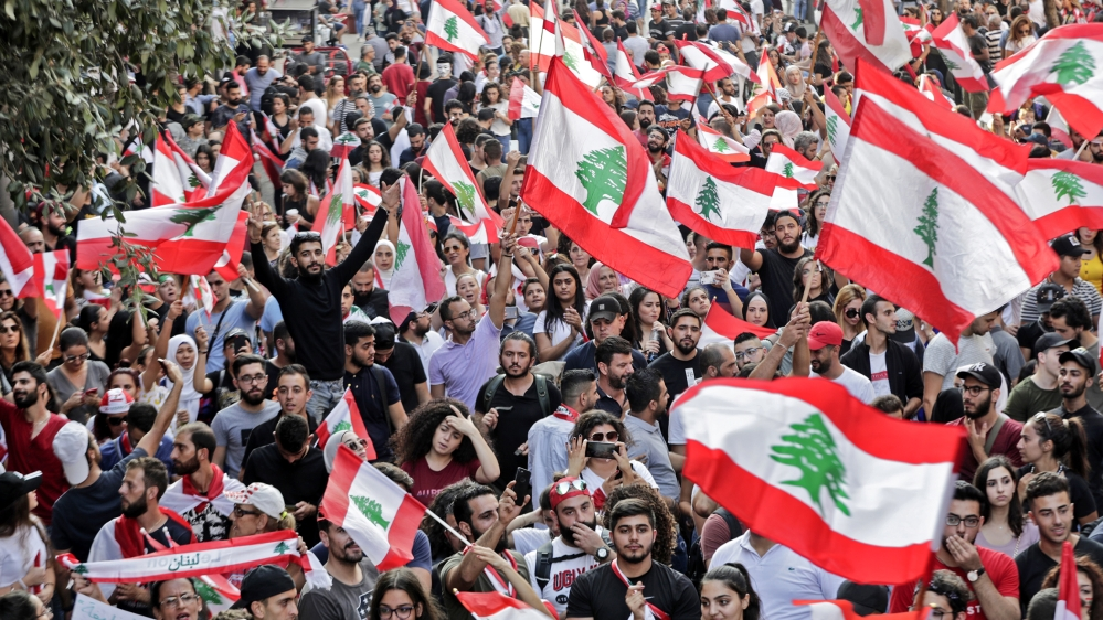 Image result for lebanon demonstrations