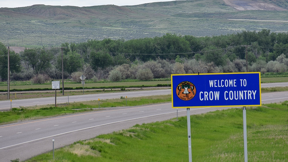 Crow Nation is a place where one could vanish - and many have