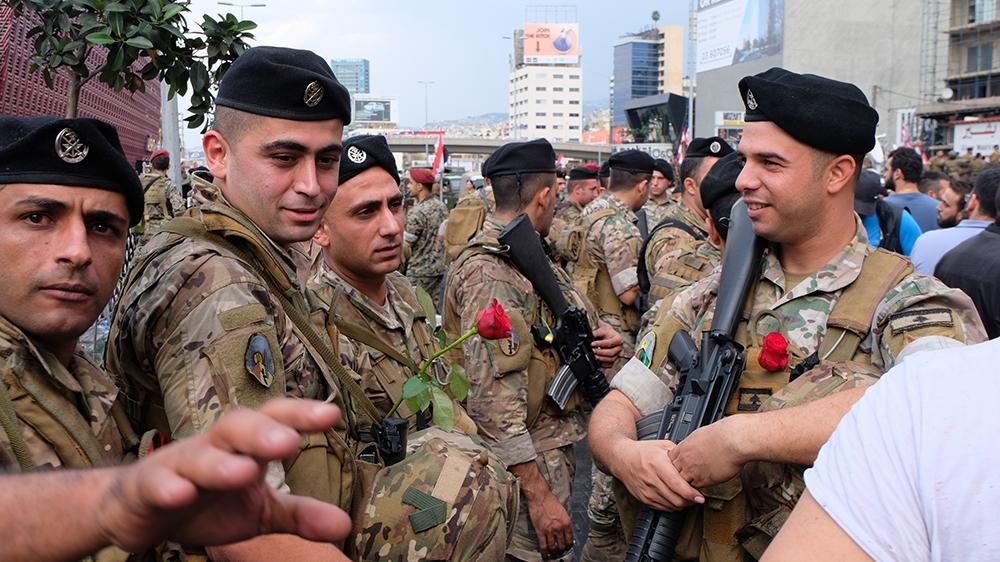Lebanese army [Timour Azhari/Al Jazeera]
