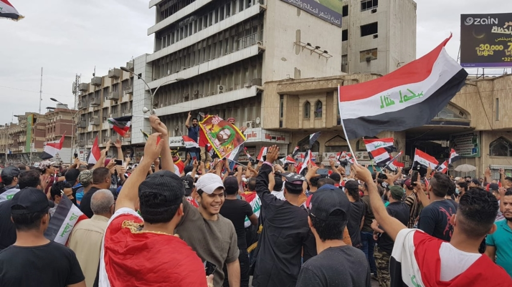 Defying bloody crackdown, thousands continue to protest in Iraq