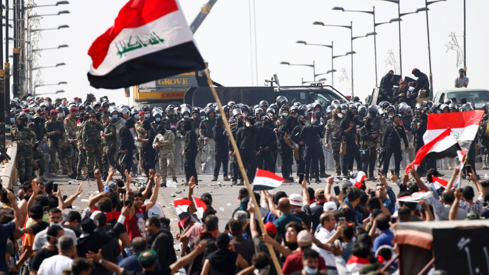 Image result for iraq protests