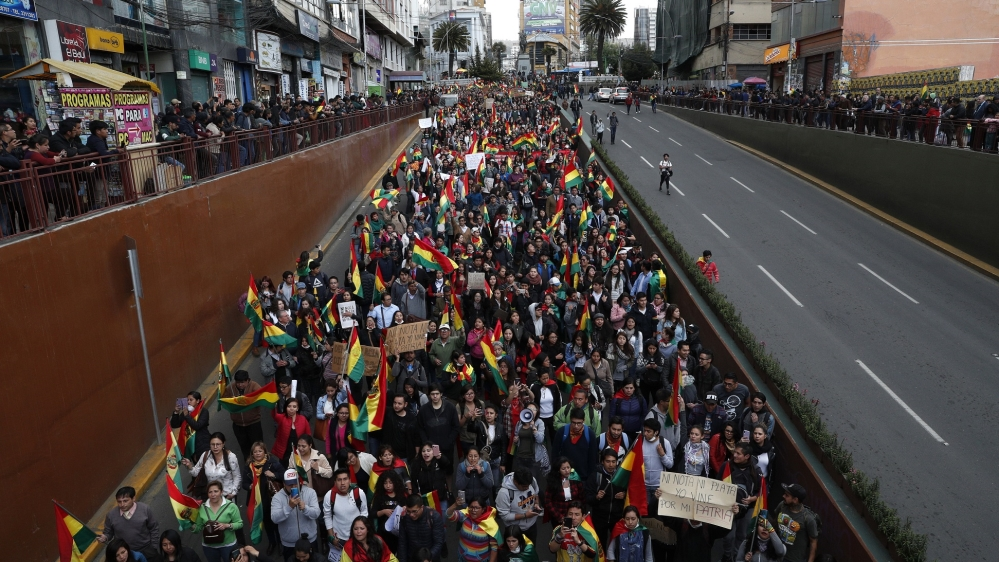 United Nations backs audit of Bolivia election results