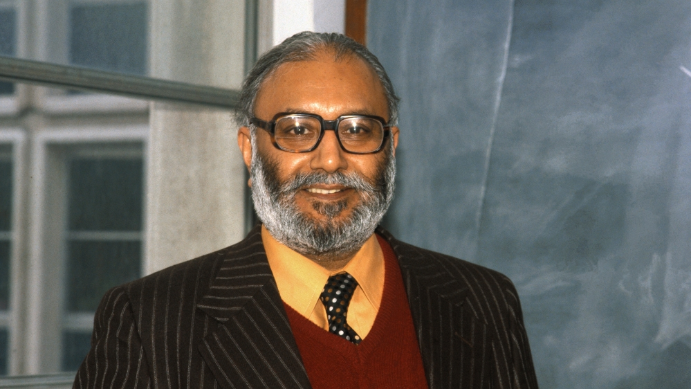 Professor Abdus Salam, of Imperial College of Science and Technology, shared the 1979 Nobel Prize for Physics with Americans Sheldon L. Glashow and Steven Weinberg.