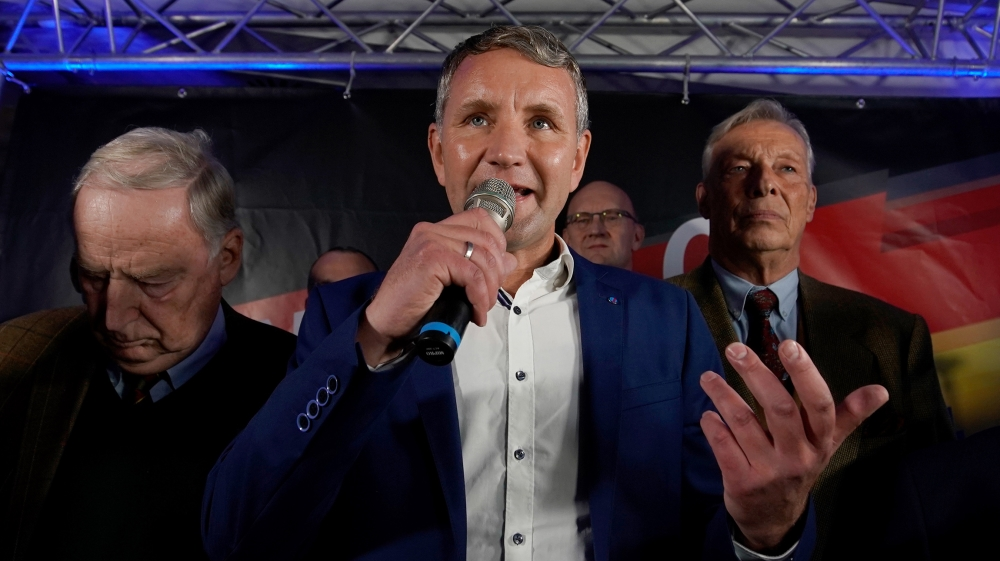 Germany's far-right AfD makes gains in Thuringia state elections