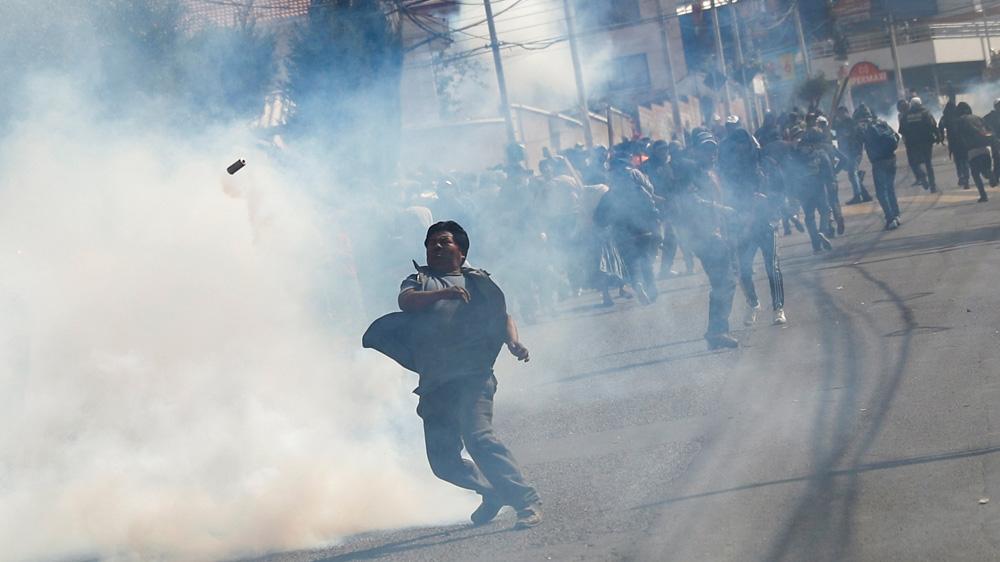 Bolivian protests