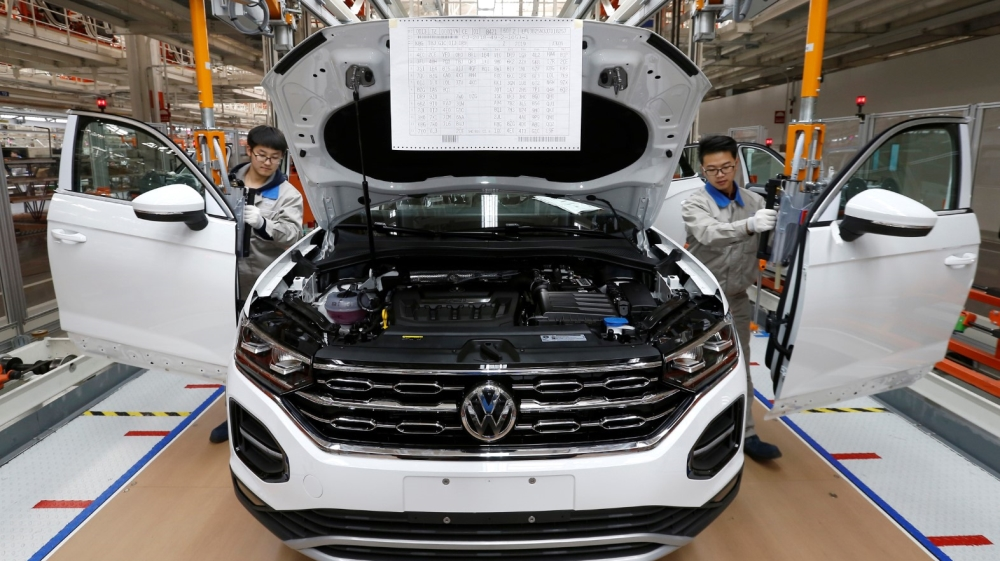 Volkswagen manufacturing China