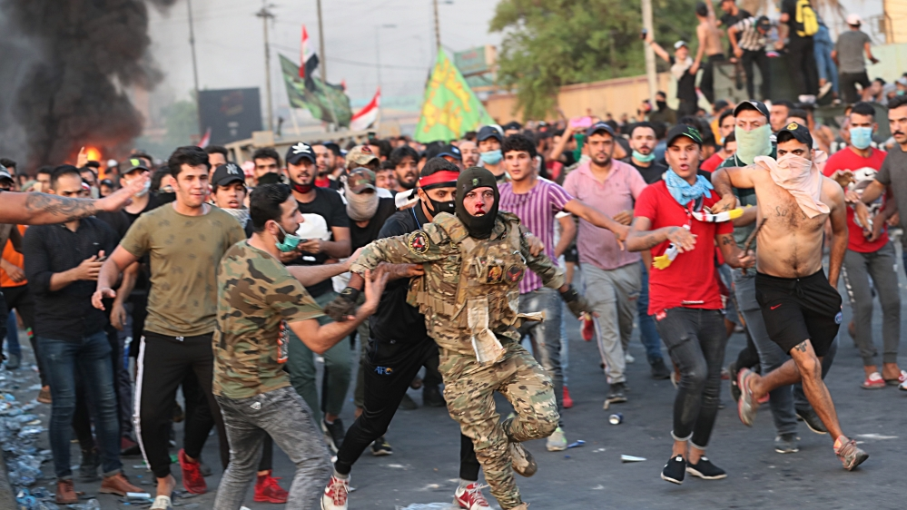 Normalcy returns to Baghdad as authorities lift curfew; 72 killed in unrest