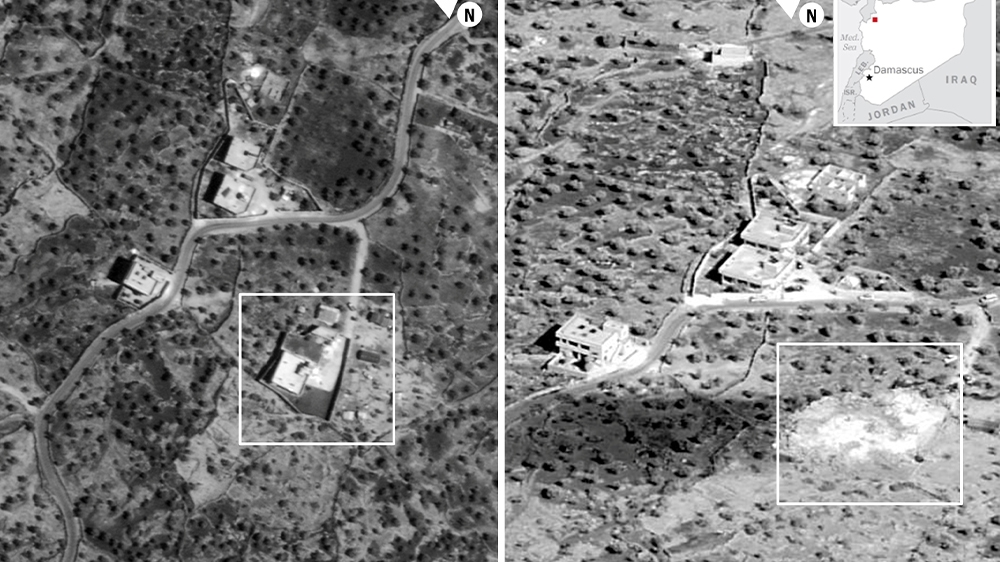 Images of U.S.  operation against Baghdadi released