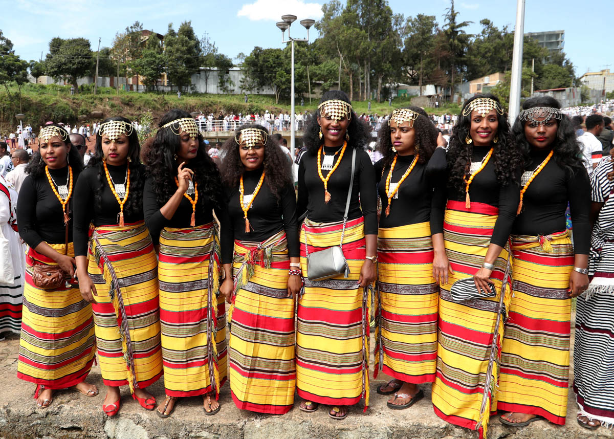 The Oromos, who make up about a third of Ethiopia's population of more than 100 million, have long complained of being marginalised during decades of authoritarian rule by governments led by politicians from other smaller ethnic groups. [Tiksa Negeri/Reuters]