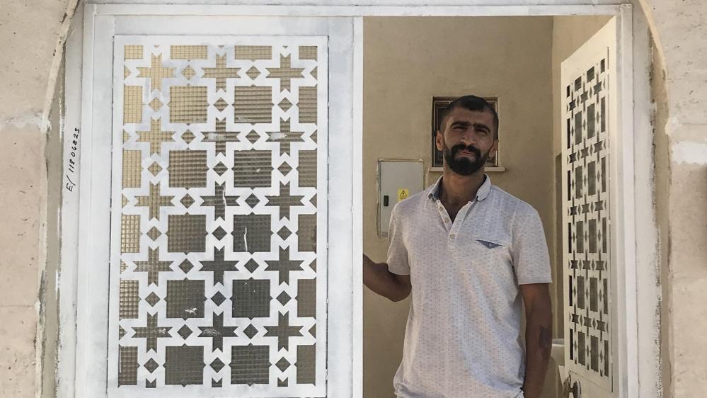 New home owner Mahmut Yildirimer