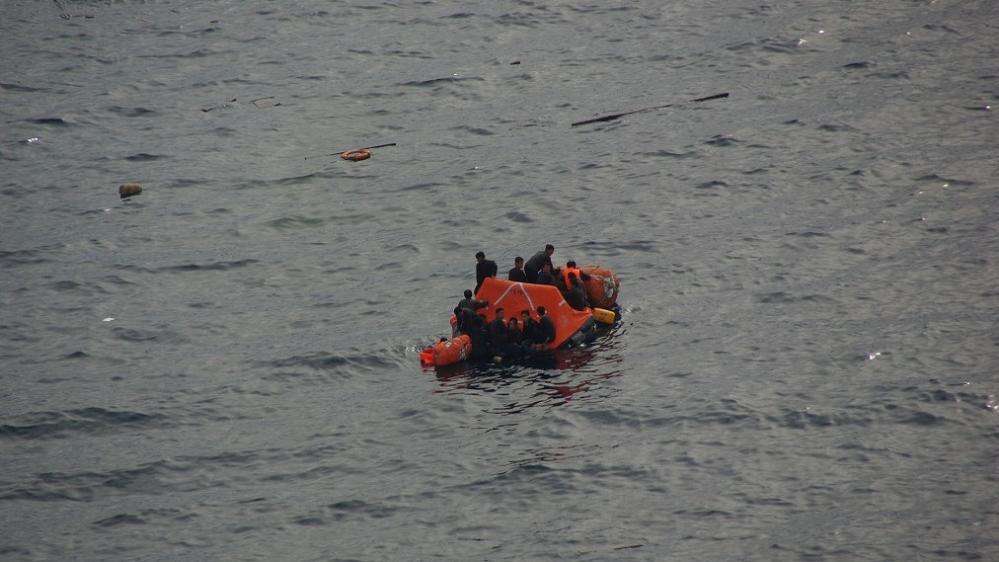 Japan rescues dozens of North Korean fishermen after collision