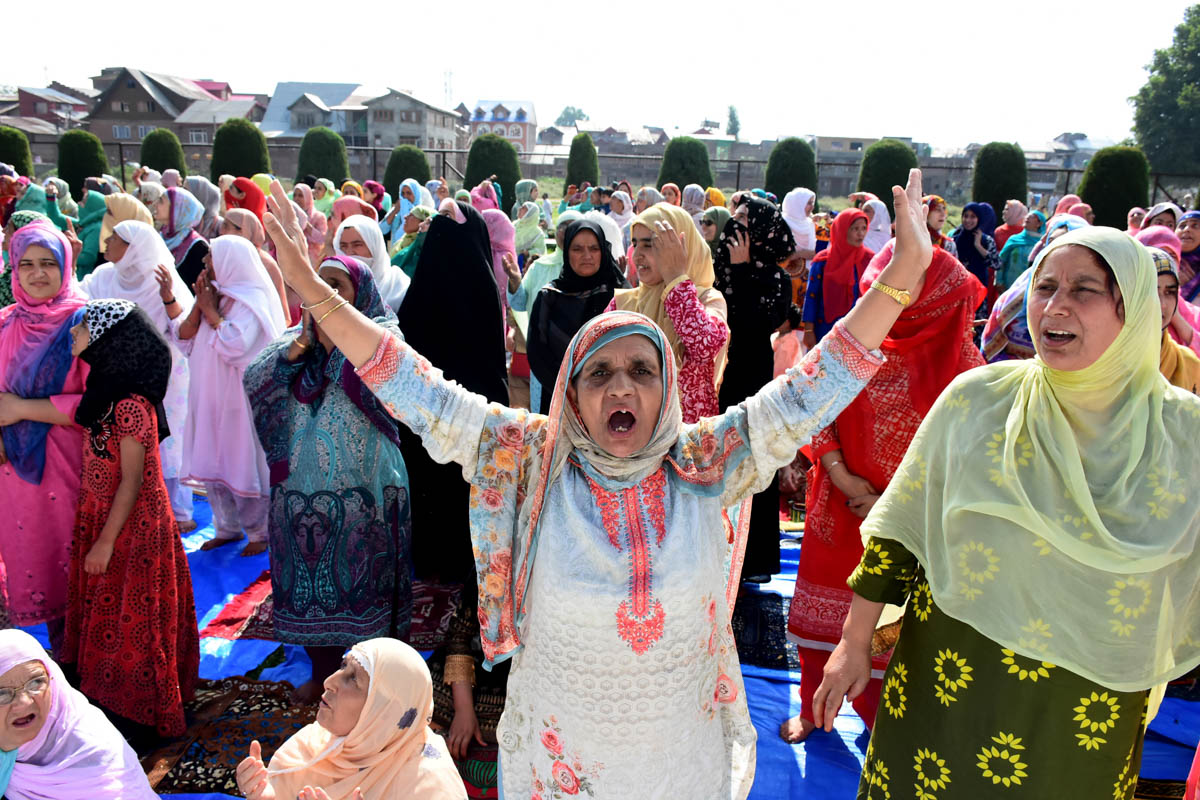Women in Indian-administered Kashmir have been at the receiving end throughout the decades old conflict, which has taken a toll on their daily lives. [Mukhtar Zahoor/Al Jazeera]