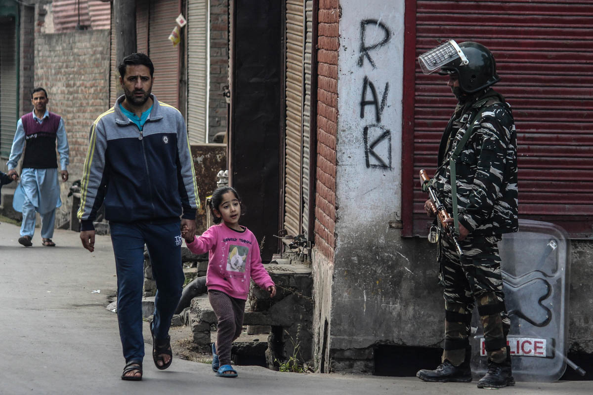 Reports say there has been a rise in mental health-related problems among the residents in Kashmir region. Psychologists say the lockdown has caused mental health problems such as anxiety, stress, depression and other related issues. [Mukhtar Zahoor/Al Jazeera]