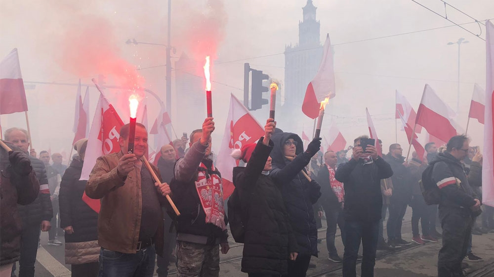 Poland independence march