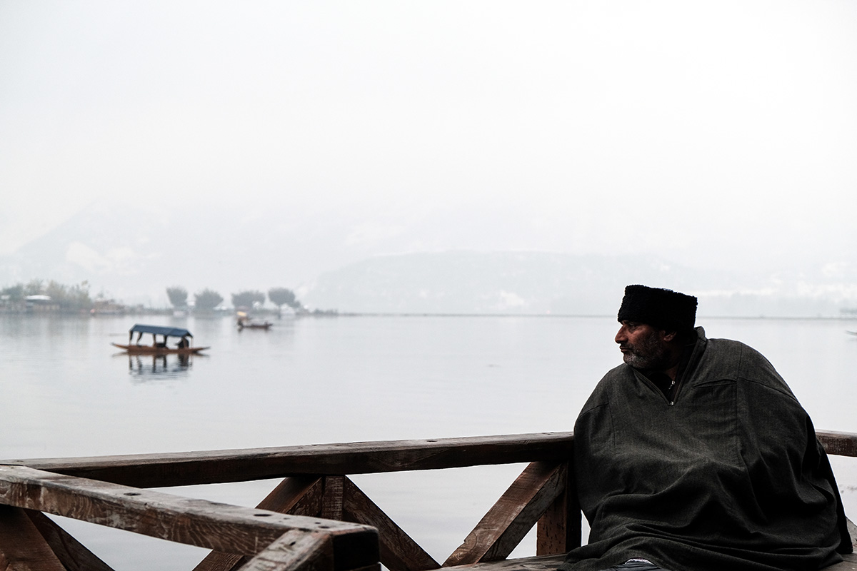 Kashmir's tourism industry suffered a big jolt after Article 370 was scrapped. 'It has been a season of gloom and despair for us. Kashmir lost its status, we lost our business as well,' said boatman Abdul Rashid who works in Srinagar's iconic Dal Lake. 'The revival will take ages it seems.' [M Mushtaq/Al Jazeera]