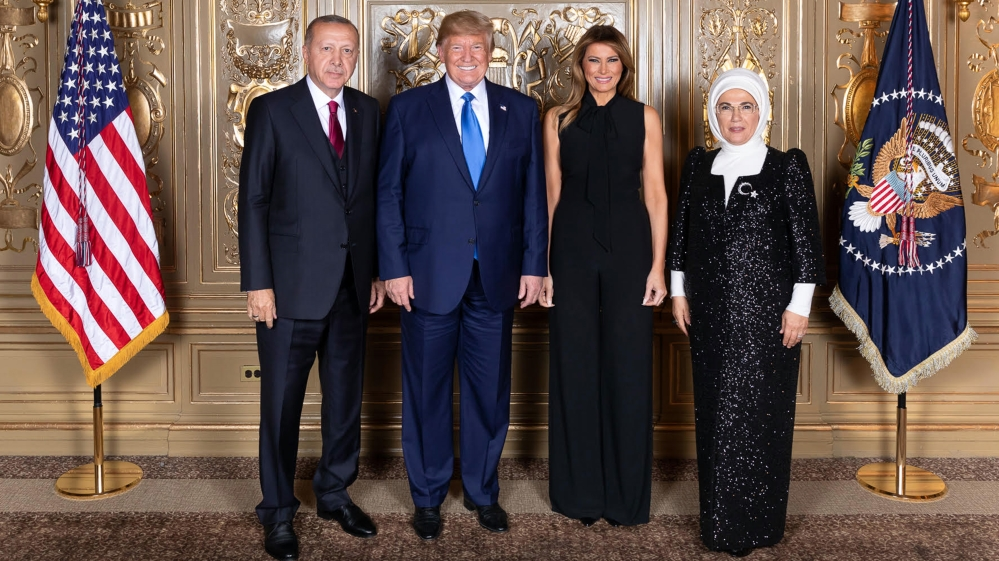 Turkish President Erdogan in New York