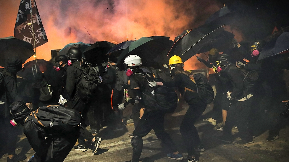 Taking stock: Hong Kong's investors feel the heat of protests - Aljazeera.com
