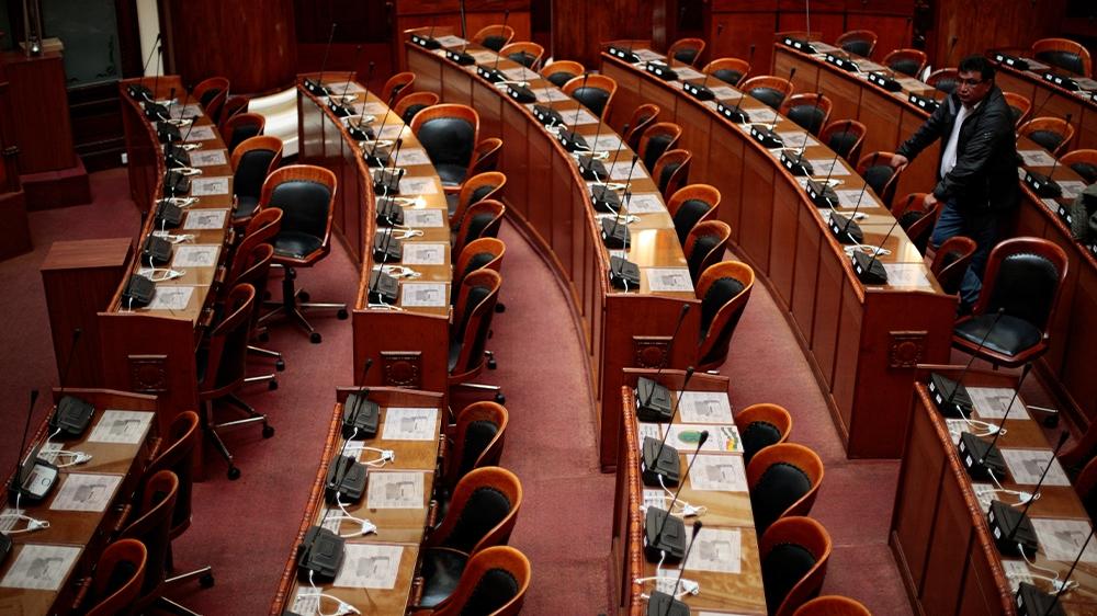 Bolivia Congress no quorum