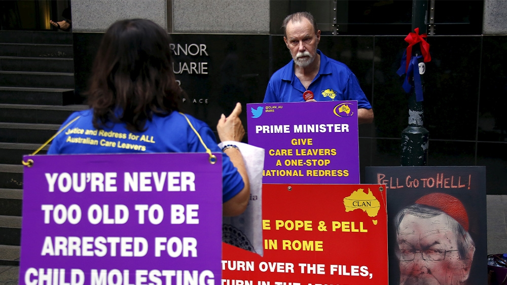Father of Pell victim 'gutted' by appeal