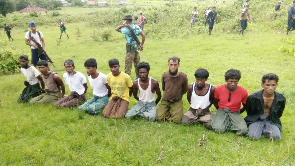 rohingya men