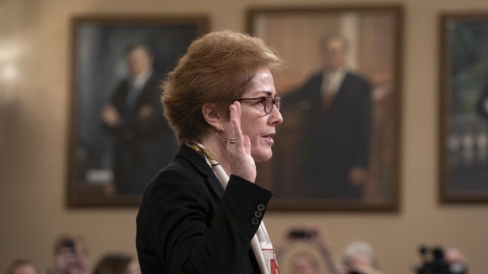 Yovanovitch Public Hearing
