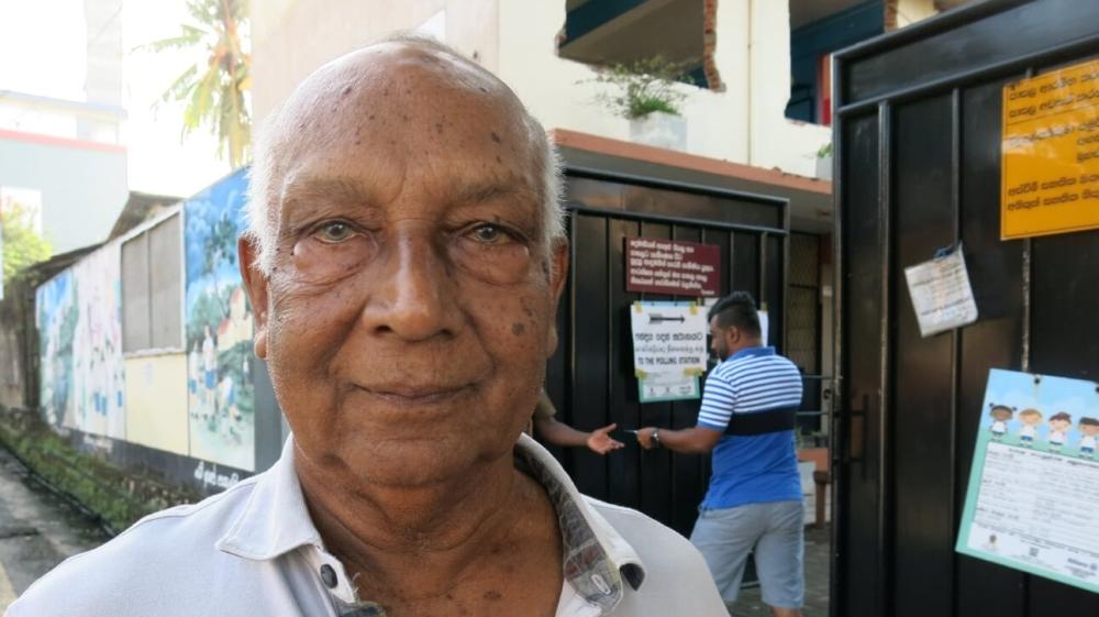 Sri Lanka votes - Leslie Rajakaruna