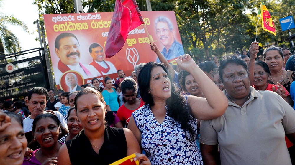 Sri Lanka election : former wartime defence chief Gotabaya Rajapaksa wins
