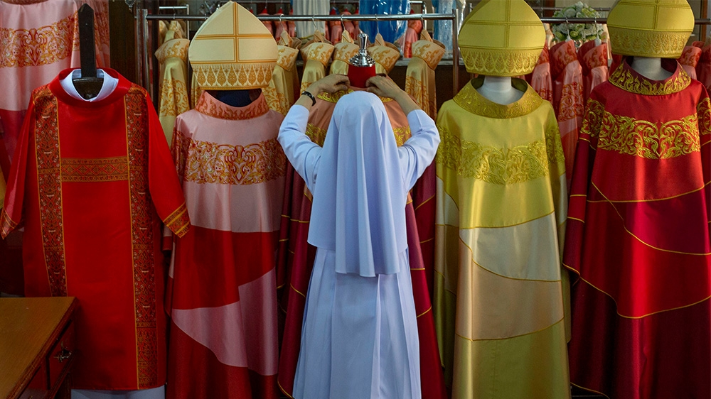 Thailand Pope Catholic