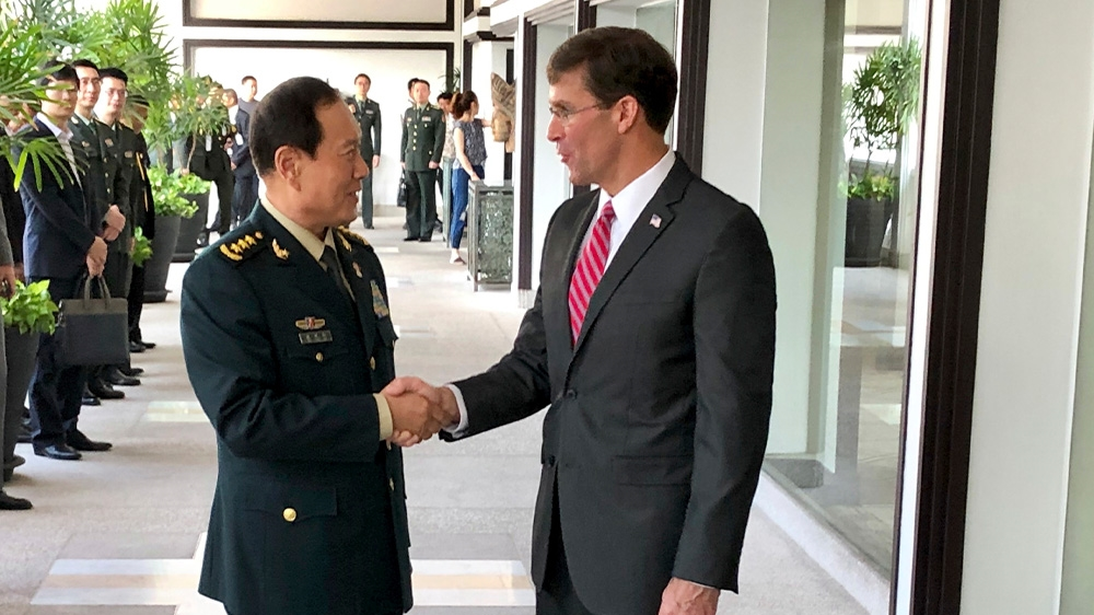 China's US Defense Ministers