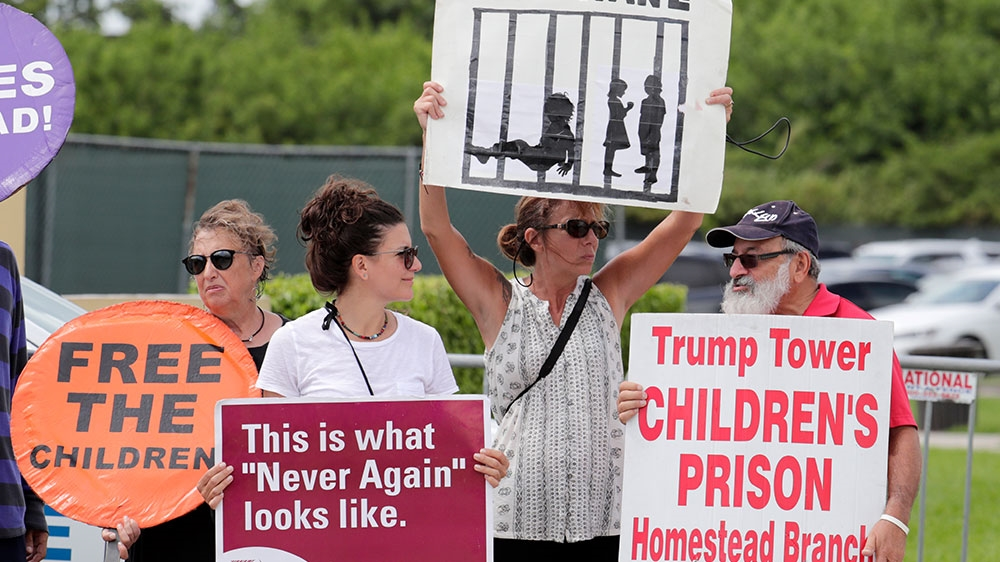 Child immigration - US