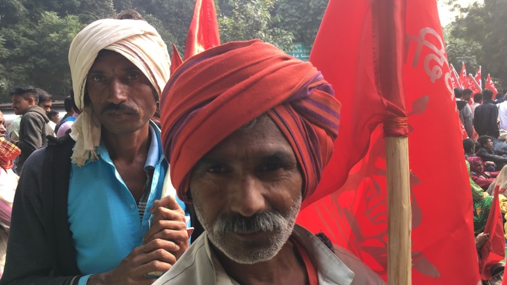 India forest dwellers rally 1