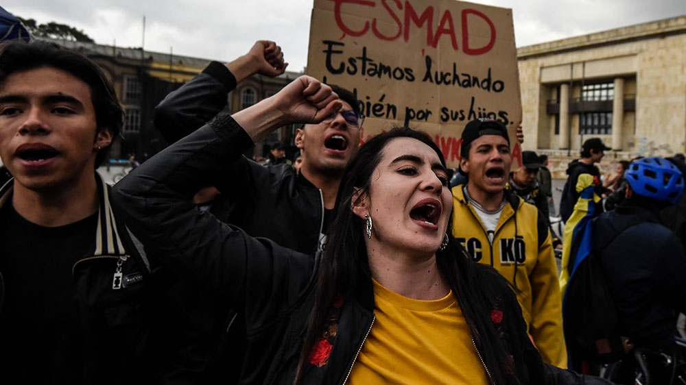 Colombia protests