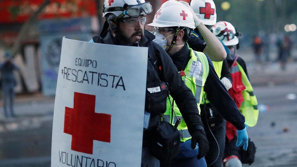 Chile medics
