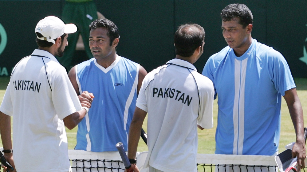 INDIA PAKISTAN DAVIS CUP TENNIS