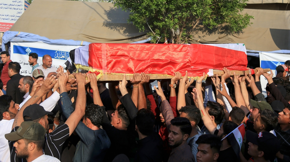 Three killed as Iraq protesters attack Iran consulate in Karbala