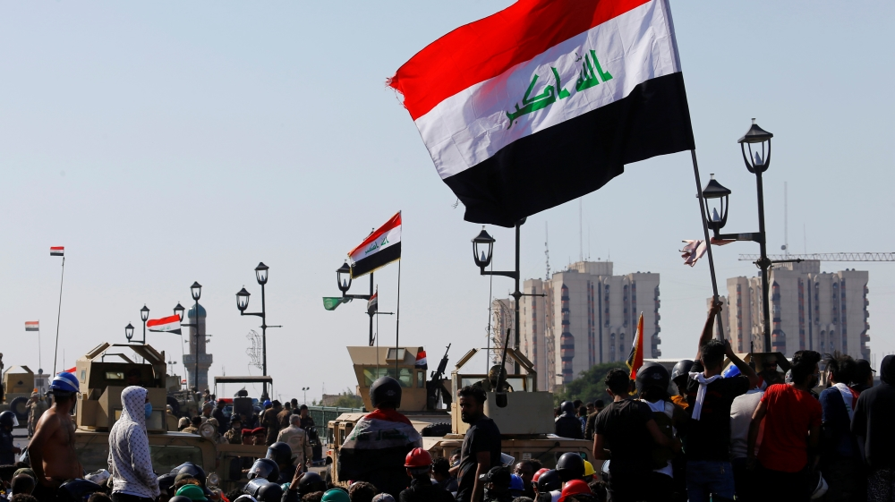 Three killed in Baghdad protests as military bans live ammunition